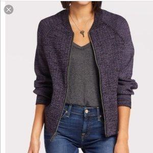 Free People Naomi Sweatshirt Jacket